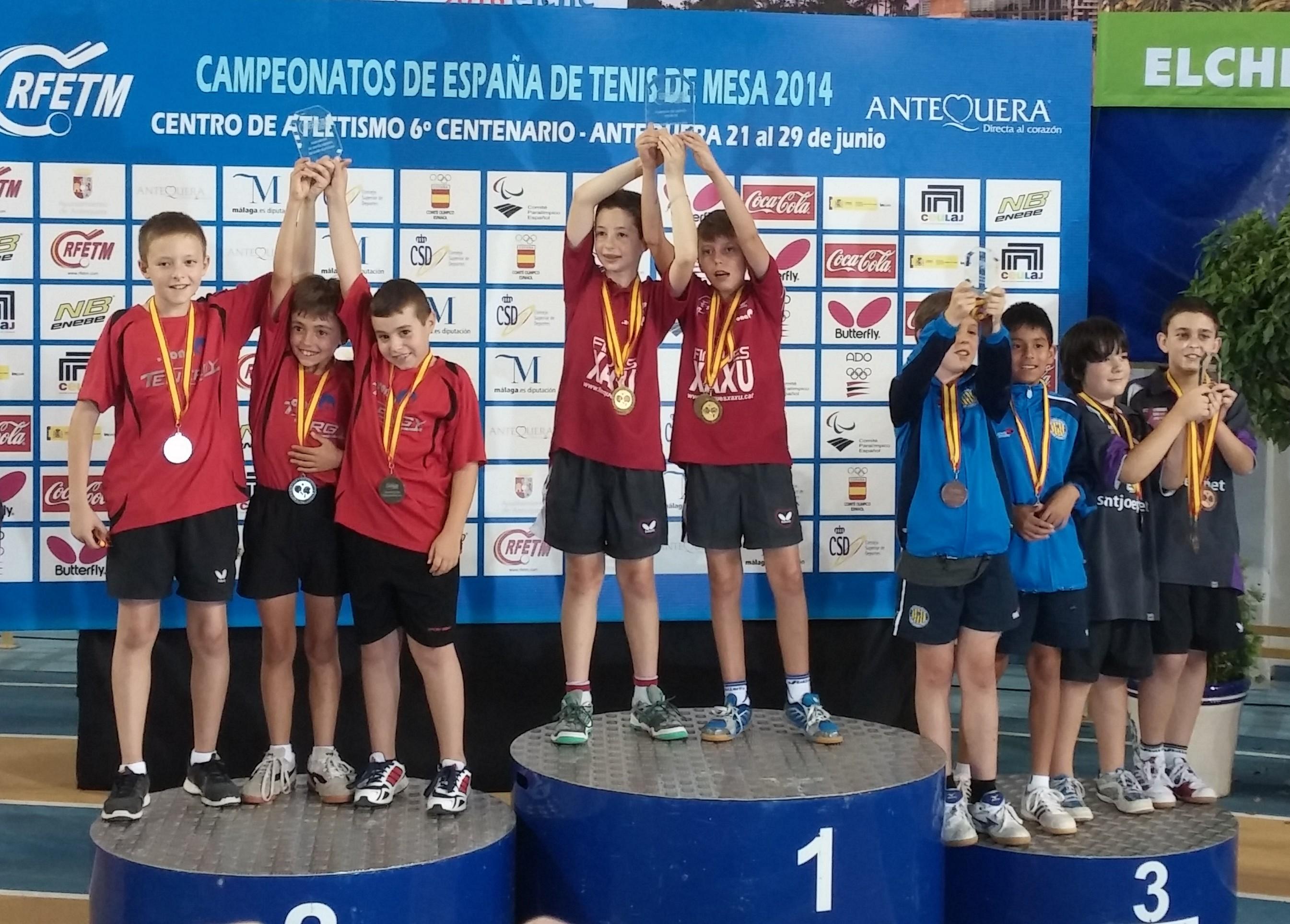 Campionats d´Espanya benjamins a Antequera juny 2014
